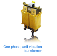 ABE - One-phase, anti-vibration transformer