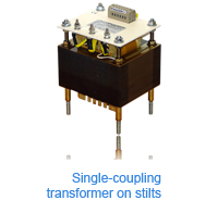 ABE - Single-coupling transformer on stilts
